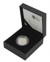 2010 Silver Proof Piedfort London One Pound for sale
